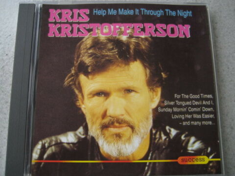 CD KRIS KRISTOFFERSON HELP ME MAKE IT THROUGH THE NIGHT NEUWERTIGE CD