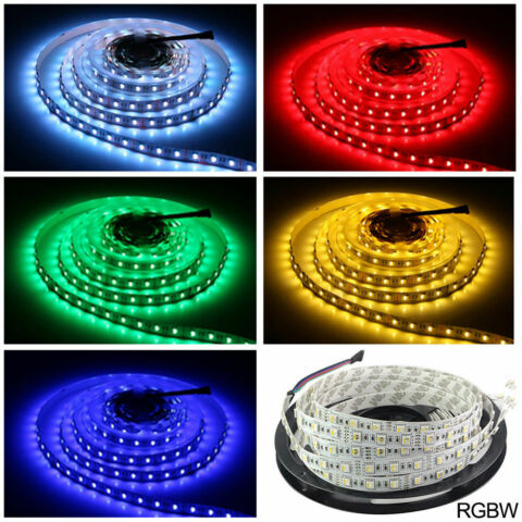 24V 12V 5050 3528 SMD RGB RGBW RGB WARMWEI LED STREIFEN STRIP STRIPES LEISTE