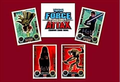 STAR WARS FORCE ATTAX SERIE 1 ZUR AUSWAHL FORCE MEISTER NUMMER 171 190