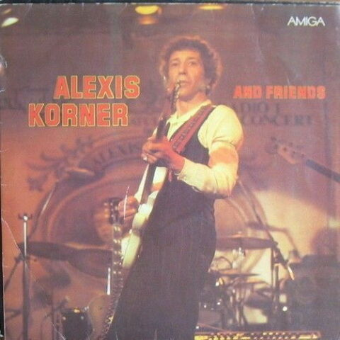 12 ALEXIS KORNER AND FRIENDS SAME LINING TRACK HEY PRETTRY MAMA 80S AMIGA