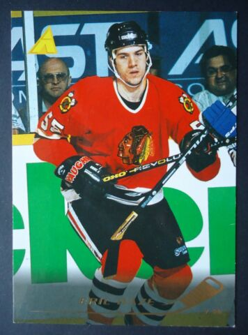 NHL 203 ERIC DAZE CHICAGO BLACKHAWKS PINNACLE 1995 96