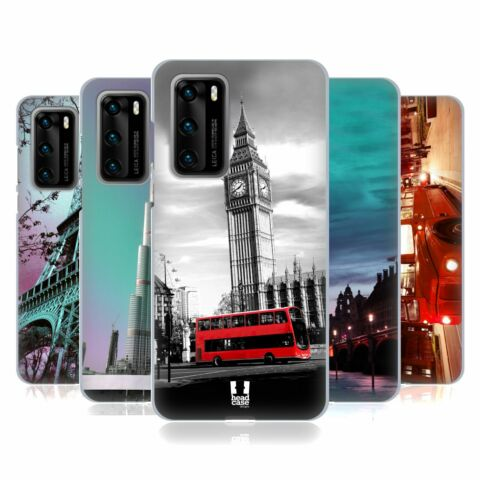 HEAD CASE DESIGNS BEST OF PLACES SET 2 SOFT GEL CASE FOR HUAWEI PHONES