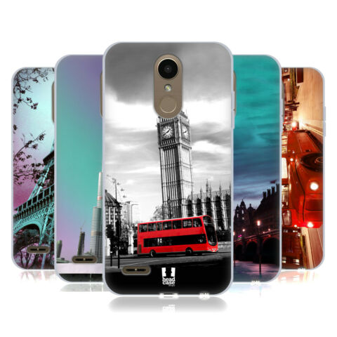 HEAD CASE DESIGNS BEST OF PLACES SET 2 SOFT GEL CASE FOR LG PHONES 2