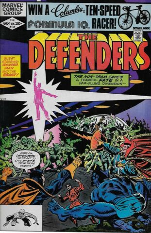 THE DEFENDERS VOL 1 NO 104 1982 J M DEMATTEIS DON PERLIN