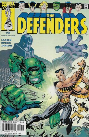 THE DEFENDERS VOL 2 NO 2 2001 KURT BUSIEK ERIK LARSEN
