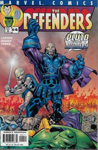 THE DEFENDERS VOL 2 NO 4 2001 KURT BUSIEK ERIK LARSEN