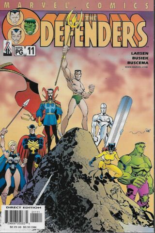 THE DEFENDERS VOL 2 NO 11 2002 KURT BUSIEK ERIK LARSEN