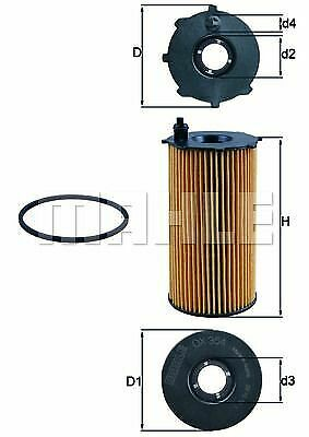 KNECHT LFILTER DODGE JEEP OX354D
