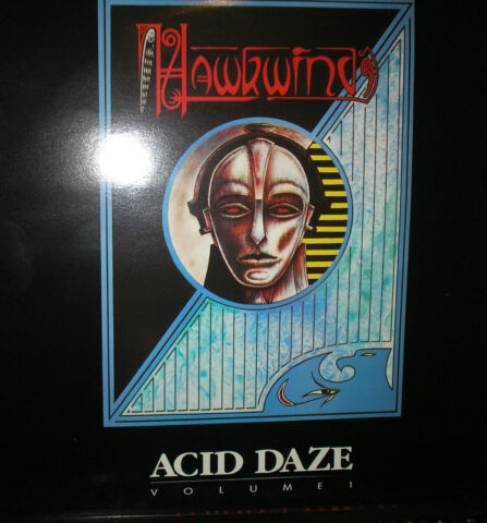 HAWKWIND ACID DAZE VOLUME 1 LP VON 1990
