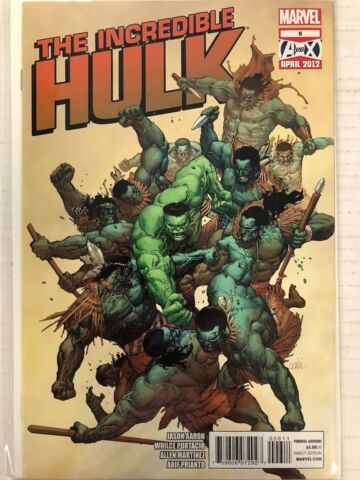 INCREDIBLE HULK 6 COMICBUCH MARVEL 2012