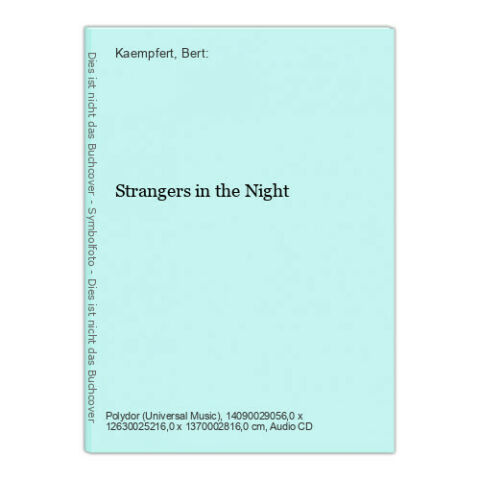 STRANGERS IN THE NIGHT KAEMPFERT BERT