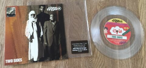 CLAWFINGER TWO SIDES 7 LIMITED CLEAR VINYL