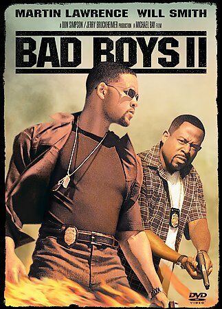 BAD BOYS II DVD 2003 2 DISC SET SPECIAL EDITION VERY GOOD