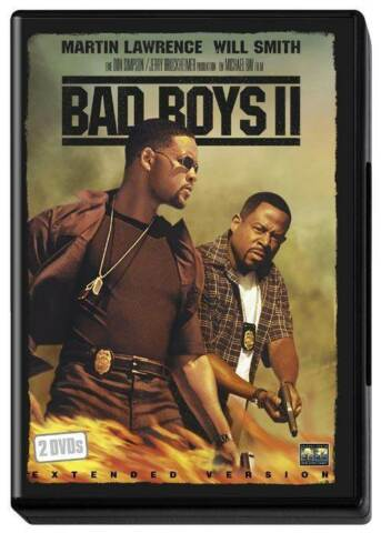 BAD BOYS II MIT WILL SMITH MARTIN LAWRENCE EXTENDED VERSION 2004 UNCUT