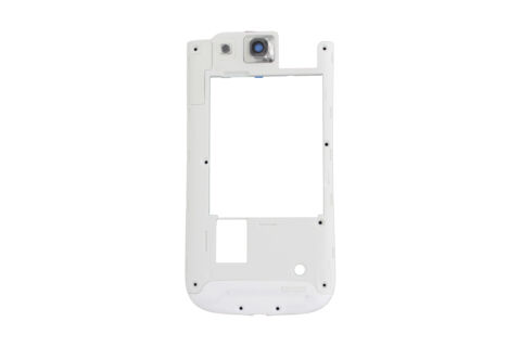 GENUINE SAMSUNG GALAXY S3 NEO I9301 WHITE MIDDLE COVER CHASSIS GH98 30619B