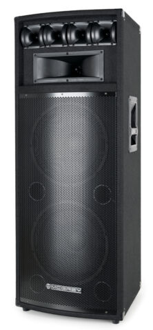 DJ PA PARTY STAND LAUTSPRECHER BOX 2X 12 30 CM SUBWOOFER DISCO BASS BOX 800W