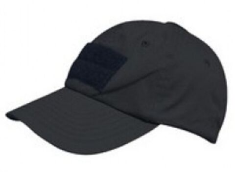 US OPERATOR TACTICAL CONTRACTOR POLICE M TZE CAP BLACK SCHWARZ