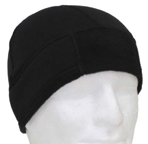 BW FLEECE BEANIE WATCH CAP M TZE POLICE POLIZEI SWAT BLACK SCHWARZ 54 58
