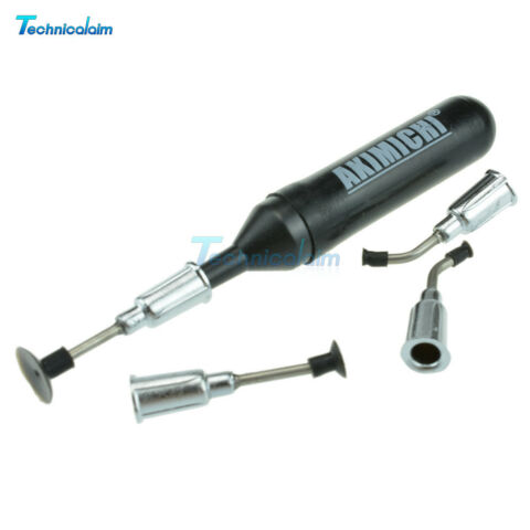 IC SMD VACUUM SUCKING PEN PICKER HAND TOOL 4 SUCTION HEADERS FOR MT 668