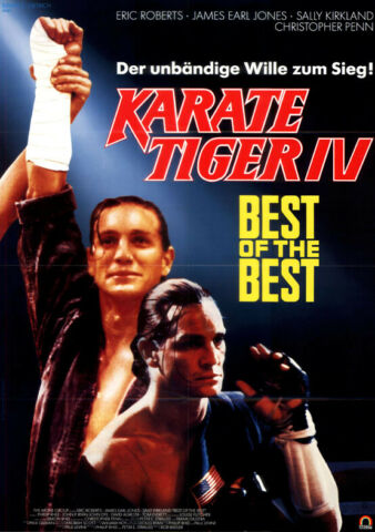 KARATE TIGER 4 BEST OF THE BEST ORIGINAL A1 KINOPLAKAT ERIC ROBERTS J JONES