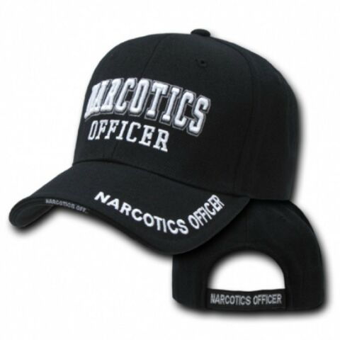 NARCOTICS OFFICER USA POLICE DELUXE LAW ENFORCEMENT CAP M TZE