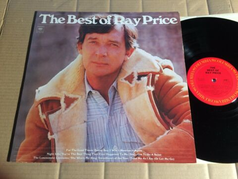 RAY PRICE THE BEST OF LP COLUMBIA KC 34160 USA 1976