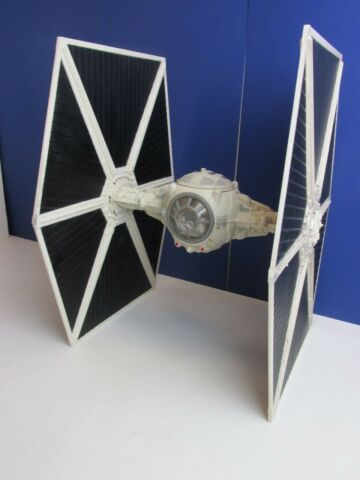 LARGE LEGACY COLLECTION STAR WARS WHITE IMPERIAL TIE FIGHTER 2003 HASBRO 34C