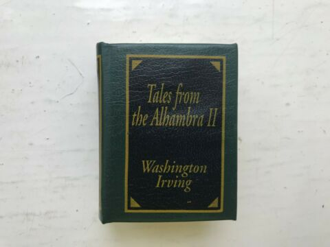 DEL PRADO MINIATURE BOOK CLASSICS TALES FROM THE ALHAMBRA II 2 WASHINGTON IRVING