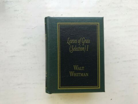 DEL PRADO MINIATURE BOOK CLASSICS LEAVES OF GRASS SELECTION I 1 WALT WHITMAN