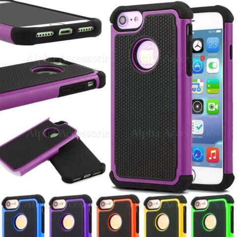 FOR IPHONE 8 8 DEFENDER RUGGED CASE COVER HARD SILICON SHOCK PROOF BUILDERS