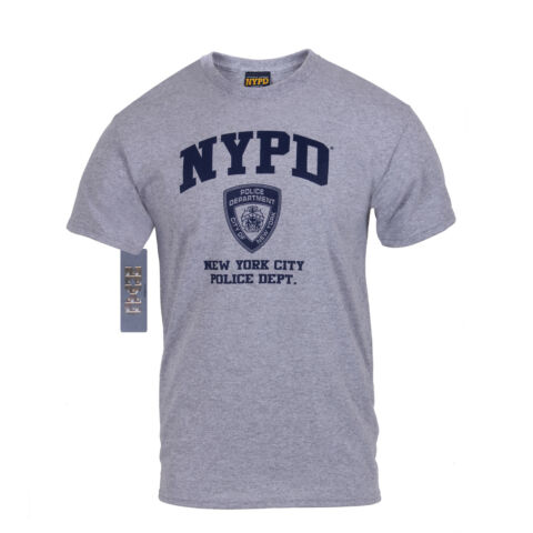 US NEW YORK NYPD POLICE DEPARTMENT OFFICIALLY LICENSED POLIZEI SPORT SHIRT L