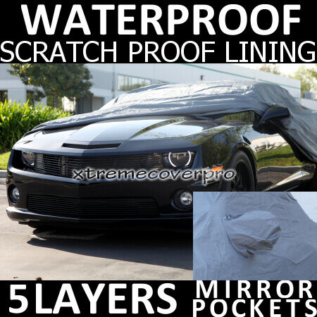 2011 CHEVROLET CORVETTE WATERPROOF CAR COVER w/MirrorPo