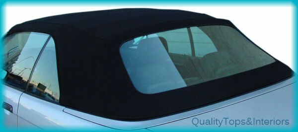 BMW 3-Series Black Stayfast Convertible top 325i 318i 1994-1999 E36