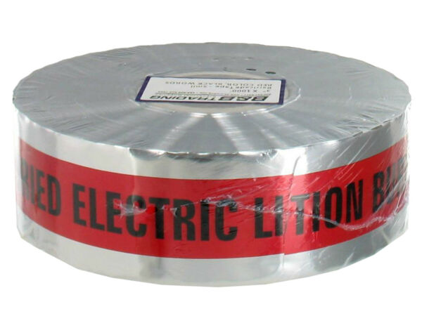 Detectable Underground Marking Tape 3