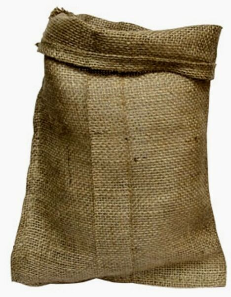 Large 22quot; x 36quot; Natural Burlap Bags Burlap Sacks 3 feet long Fish Bag