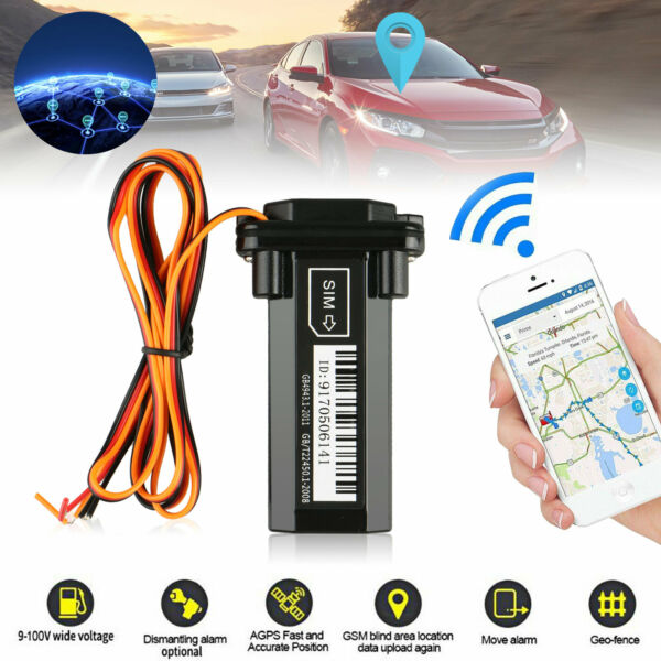 Car Vehicle Motorcycle GSM GPS Tracker Locator Global Real Time Tracking Device $21.98