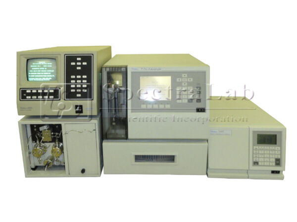 Waters 600E with Waters 2487 Waters 717 Plus autosampler In-Line degasser