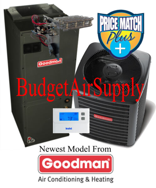 2.5 ton (2 12)Ton 15 seer Goodman Heat Pump Multi-Speed GSZ14030+ASPT37C14+TXV+