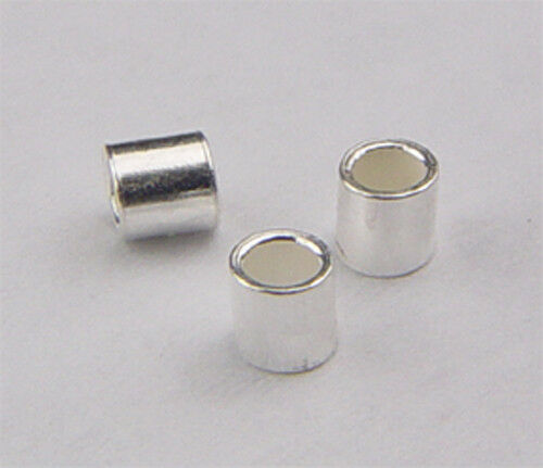 #730 sterling silver crimp beads of 2mm3mm&4mm