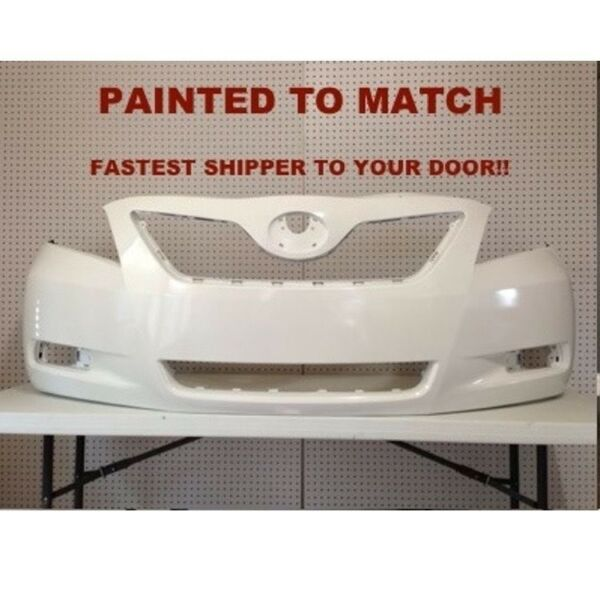 Fits; 2007 2008 2009 Toyota Camry Front Bumper Painted (TO1000329)