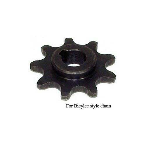 9 Tooth 11mm Bore Sprocket for 12