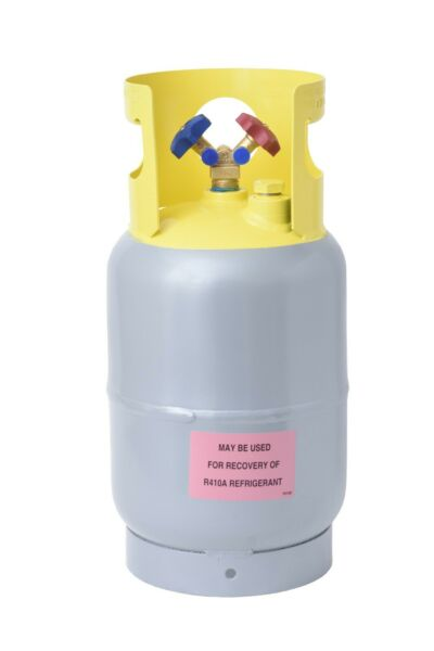 Refrigerant Recovery Reclaim Cylinder Tank - 30lb Pound 400 PSI NEW
