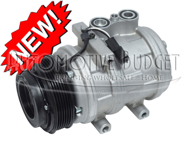 *Heavy Duty* A/C Compressor w/Clutch for Various Ford Lincoln & Mercury Vehicles