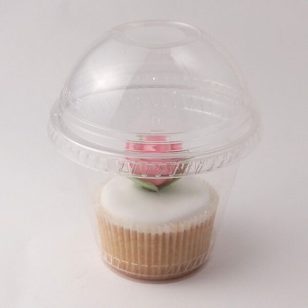 Clear Cupcake boxes with Domed Lids premium quality 10 50 100