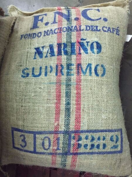 Colombia Supremo Unroasted Green Coffee Beans 3 lbs -10 lbs for home roasting