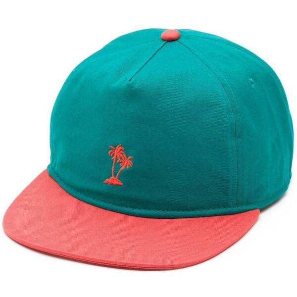 Vans Off The Wall Palmeo Hat Mens Green Soft Crown Camper Strapback New NWT $22.99
