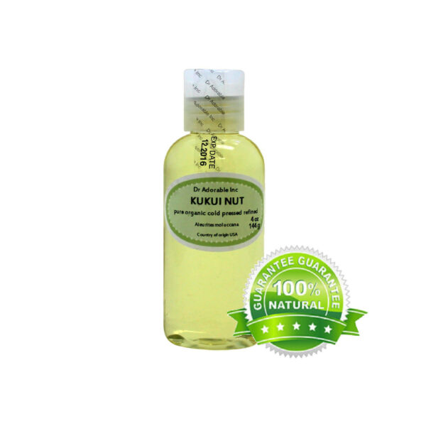 BEST PREMIUM KUKUI NUT OIL PURE ORGANIC COLD PRESSED HIGH QUALITY DRY SKIN