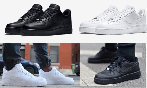 NIKE AIR FORCE 1 ONE LOW SHOES LIFESTYLE SNEAKERS