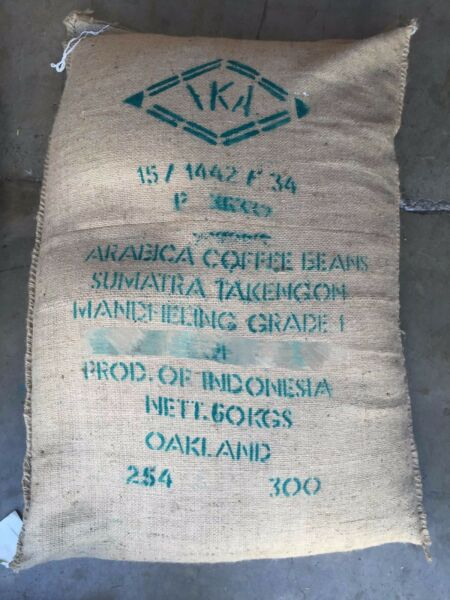 CROP 2017 Up to 20 lbs Sumatra Mandheling Grade 1 unroasted Green Coffee Beans