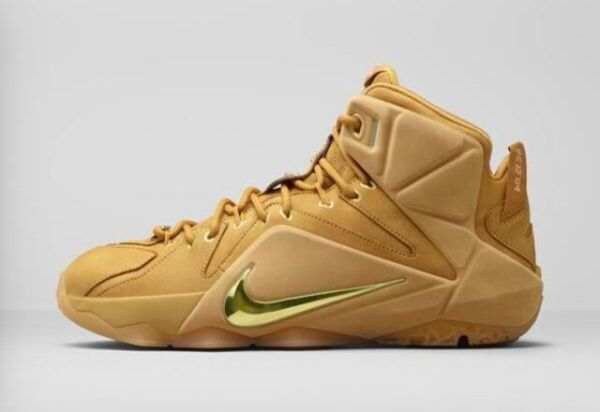 Nike Lebron 12 EXT Wheat size 8